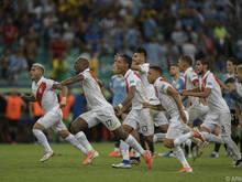 Peru gewann im Elfmeterschießen gegen Uruguay mit 5:4