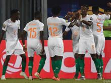 Die Ivorer stehen in der K.o.-Phase