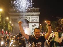 Algeriens Sieg sorgte erneut für Ausschreitungen