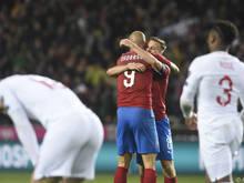 Tschechien blamierte die seit 2009 in Qualis ungeschlagenen Engländer