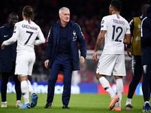 Weltmeister Frankreich hätte bei Siegen von Deutschland und Spanien das Nachsehen