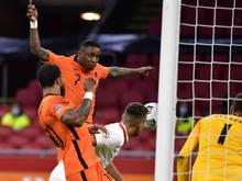 Die Niederlande feierten einen knappen 1:0-Sieg