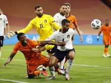 Trotz der knappen Niederlage, waren die Niederlande Italien klar unterlegen