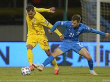 Rumänien musste sich mit 1:2 gegen Island geschlagen geben