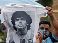 Argentinien und die Welt trauern um Fußball-Ikone Diego Maradona