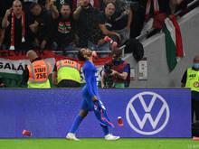 Ungarische Fans hatten die englischen Profis rassistisch beleidigt