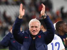 Deschamps trifft mit Frankreich im Endspiel auf Spanien