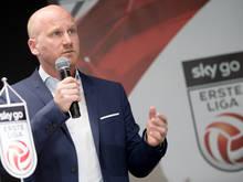 Bundesliga-Vorstand Christian Ebenbauer freut sich auf die neue Zwölferliga