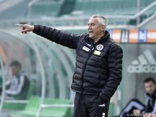 Peter Pacult führte die Klagenfurter in die Relegation