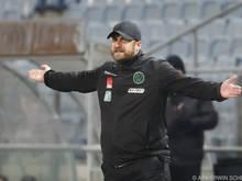 Wacker-Coach Daniel Bierofka muss aktuell viel Geduld aufbringen