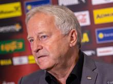 ÖFB-Präsident Leo Windtner appelliert an die Politik