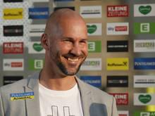 Sturm-Coach Ilzer war nach dem 3:2 über Udinese zufrieden