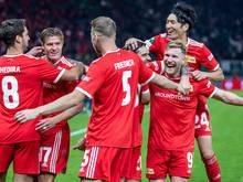 Union Berlin jubelt über den Debütsieg