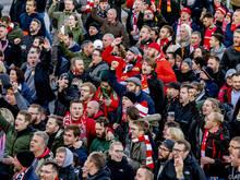 Union-Fans in Rotterdam
