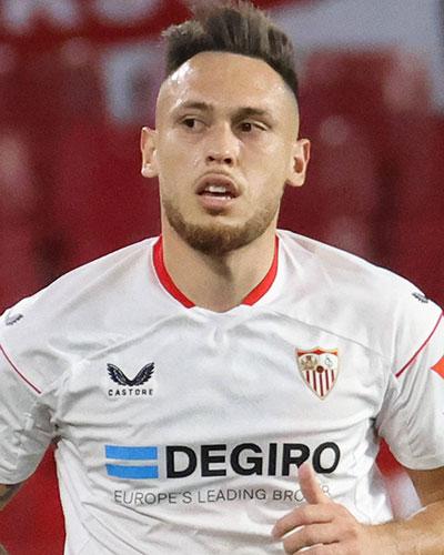 Lucas Soccer Player: Lucas Ocampos