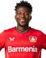 Bayer Leverkusen Edmond Tapsoba trøjer/tøj/Børntrøje
