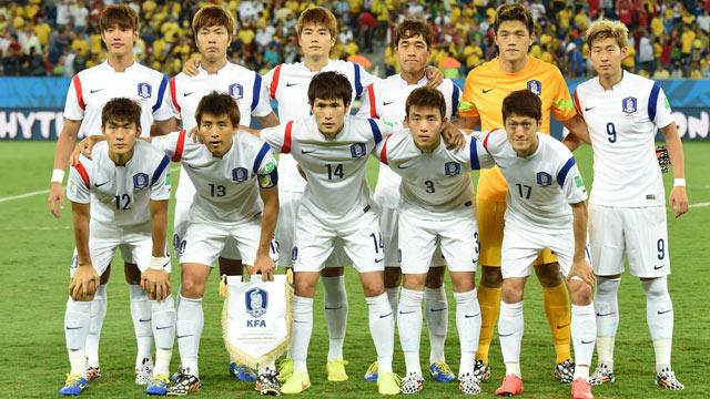 Südkoreanische Fußballnationalmannschaft