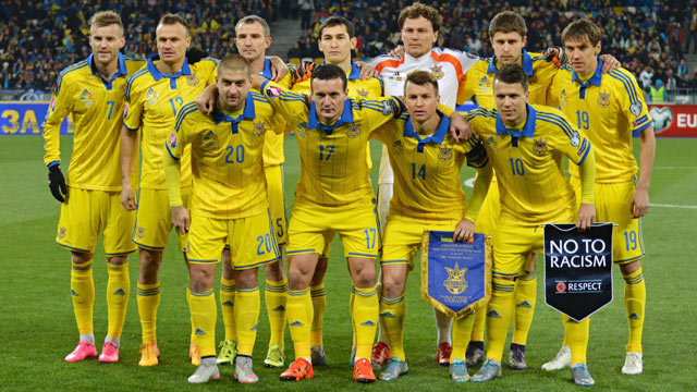 ukraine national football team roster