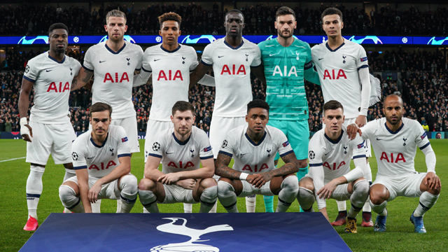 Image result for tottenham squad 2019