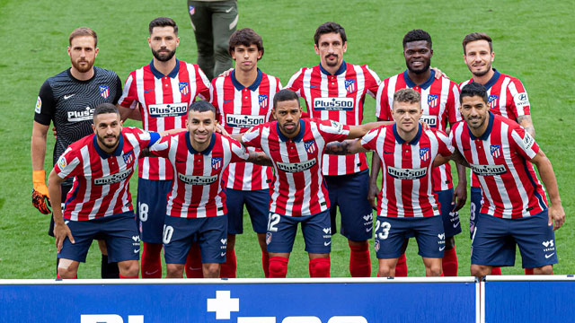 Atletico Madrid Squad 2020 2021