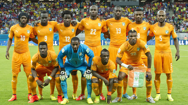 Image result for ivory coast national football team