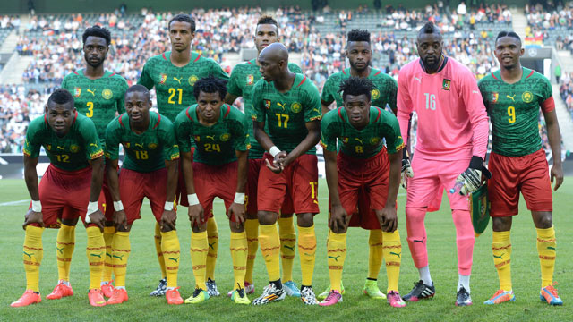 Cameroon National Team » Squad Friendlies 2020
