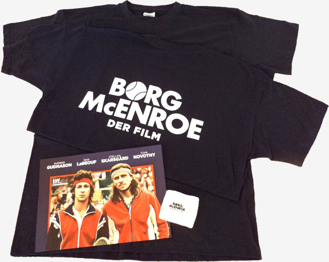 Fanpaket - T-Shirt, Schweißband, Plakat