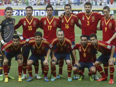 Die Spanier wollen bei der WM 2014 in Brasilien ihren Titel verteidigen. Foto: Felipe Trueba