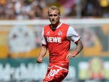 Marcel Risse erzielte kurz nach der Halbzeit das 1:0 für Köln. Foto: Thomas Eisenhuth