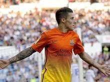 Cristian Tello hat jetzt einen Vertrag beim FC Barcelona bis 2018