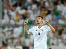 Miroslav Klose hat bereits 68 Tore im Nationaltrikot erzielt