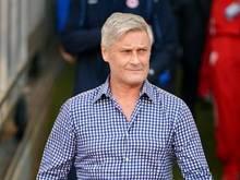 Trainer Armin Veh muss im Pokal gegen Bochum auf ein Trio verzichten