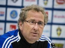 Schwedens Coach Hamren will schon vor dem Spiel gegen Deutschland die Qualifikation perfekt machen