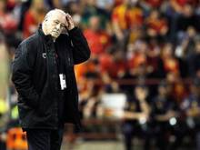 Hat Spaniens Nationaltrainer Vicente del Bosque schon den WM-Plan im Kopf?