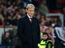 Sami Hyypiä erlebt mit seiner Mannschaft eine Krise