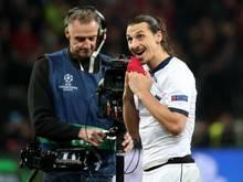 Zlatan Ibrahimovic sorgte mal wieder für die große Show