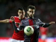Bragas Rafa Silva (r) wurde in die portugiesische Nationalmannschaft berufen