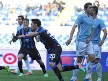 Lazio musste gegen Atalanta Bergamo eine 0:1-Pleite hinnehmen