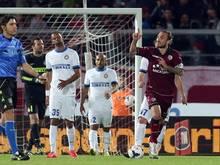 Inter spielte nur 2:2 gegen den abstiegsbedrohten AS Livorno