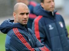 Bayern-Trainer Pep Guardiola ist jetzt als Motivator gefragt