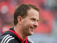 Sascha Lewandowski sieht im Spielt gegen den FC Nürnberg eine harte Aufgabe für Leverkusen
