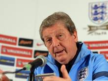 Das Team von Roy Hodgson trifft bei der WM am 15. Juni auf Italien