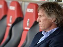 Trainer Gertjan Verbeek weiß: Ein Sieg für den FC Nürnberg muss her. Foto: Patrick Seeger