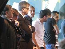 Die Barca-Profis nahmen im Camp-Nou-Stadion Abschied. Foto: Marta Perez