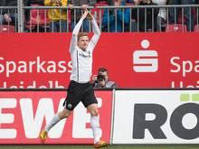 Nicky Adler verlängerte seinen Vertrag in Sandhausen