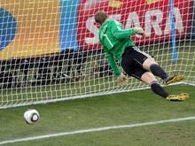 Bei der WM 2010 hatte die deutsche Mannschaft Glück, dass ein Treffer der Engländer nicht gegeben wurde