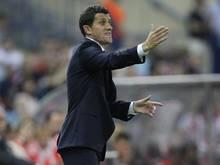 Javier Gracia ist der neue Trainer des FCMalaga