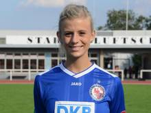 Johanna Elsig spielt in der Bundesliga für den 1. FFC Turbine Potsdam. Foto: Bernd Settnik