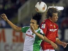 Edu Bedia (l.) spielte in der Premier League für Racing Santander