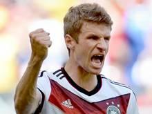 Drei Tore hat Thomas Müller bereits auf seinem WM-Konto. Foto: Andreas Gebert
